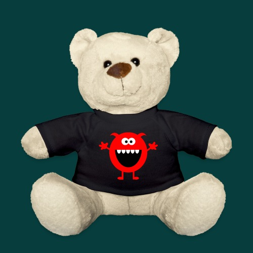 Lachendes Rotes Monster - Teddy