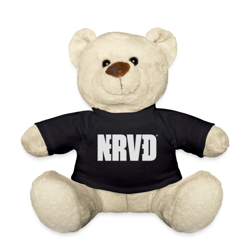 Official Nerved@ White Logotype - Teddy Bear