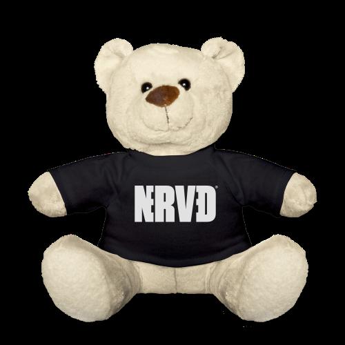 Official Nerved@ White Logotype - Teddy Bear
