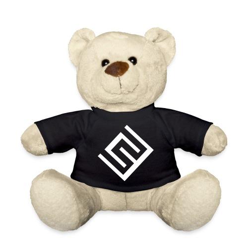 ChrisWhippit Logo Vit - Nallebjörn