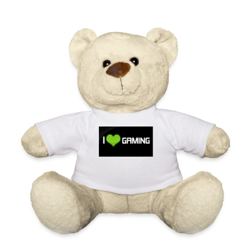 I Love Gaming Shadow Gamer - Teddy