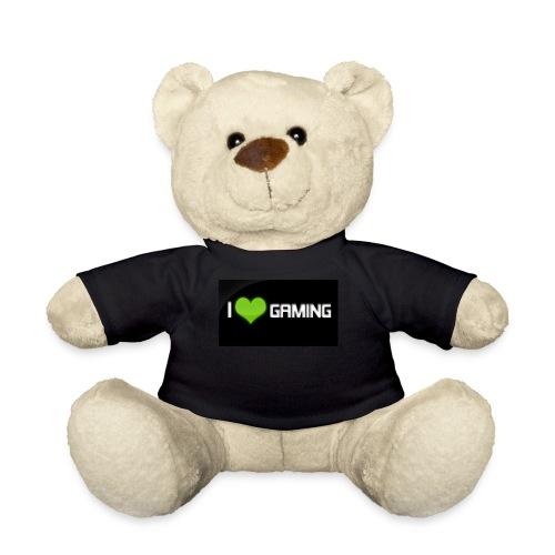 I Love Gaming Shadow Gamer - Teddy