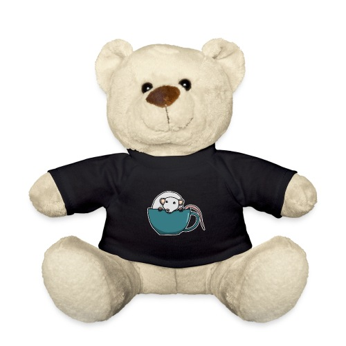 Ratte, Tasse, Tier, süß, Zeichnung, Geschenk - Teddy