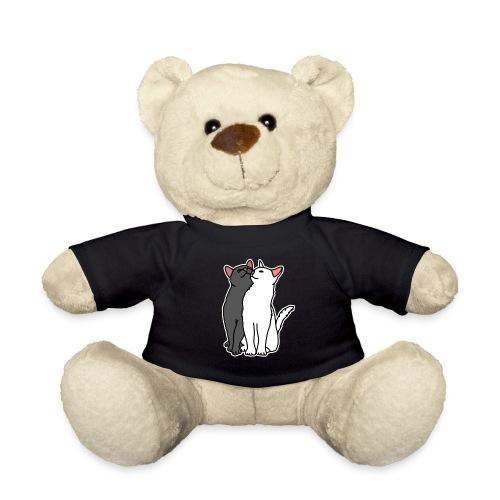 Katzen, kuscheln, süß, Comic, Geschenkidee - Teddy