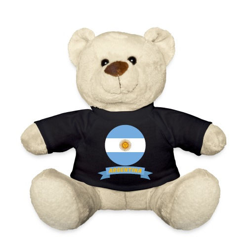 flag of argentina t shirt design ribbon banner - Orsetto