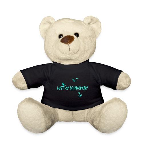 Lust zu schnacken tuerkis - Teddy