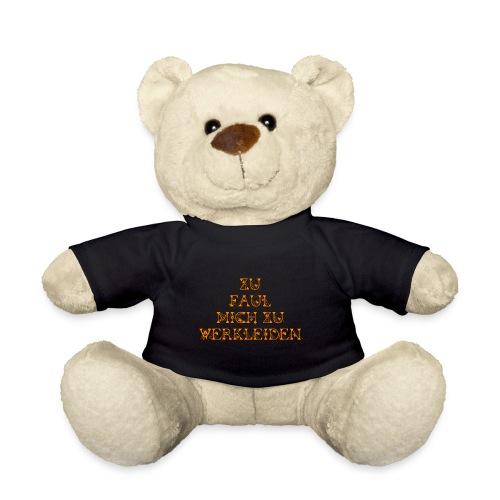 zu faul mich zu verkleiden - Teddy