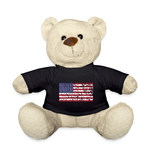 AVM WWII Trashed 48 star flag in color D'Day - Teddy