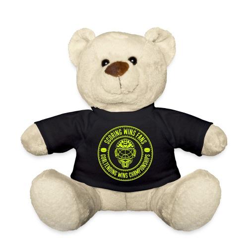 Ice Hockey - Goaltending Wins Championships - Teddy Bear