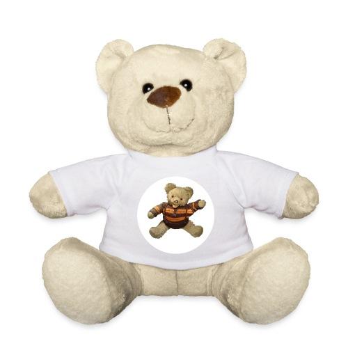 Teddybär - orange braun - Retro Vintage - Bär - Teddy