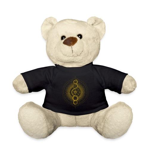 Sacred Geometry Metatron's Cube Gold Transcendence - Teddy Bear