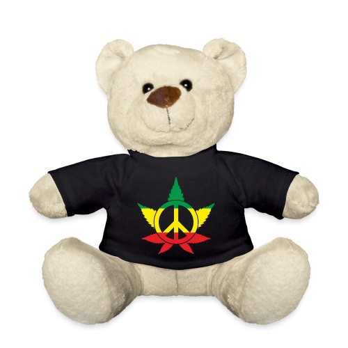 Peace färbig - Teddy