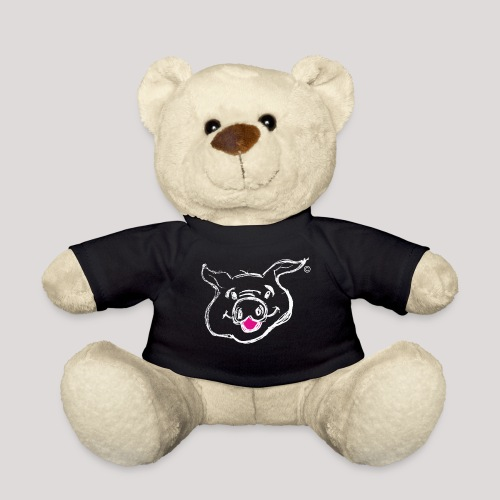 HAPPY PIGPIGGY White - Teddy Bear