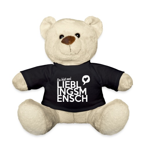 Vorschau: Du bist mei Lieblingsmensch - Teddy