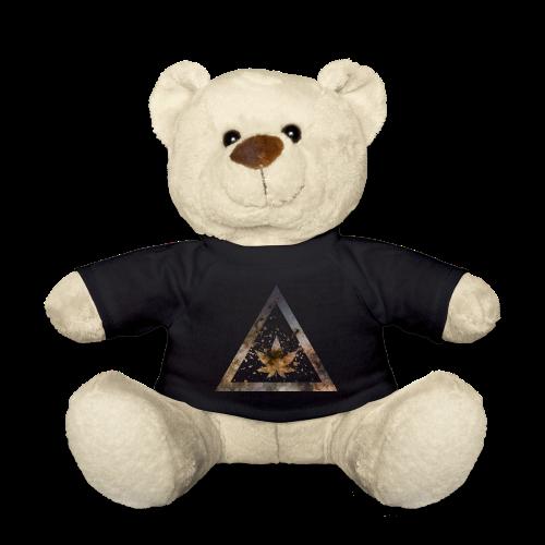 Galaxy Weed Marijuana Triangle with Splashes - Teddy
