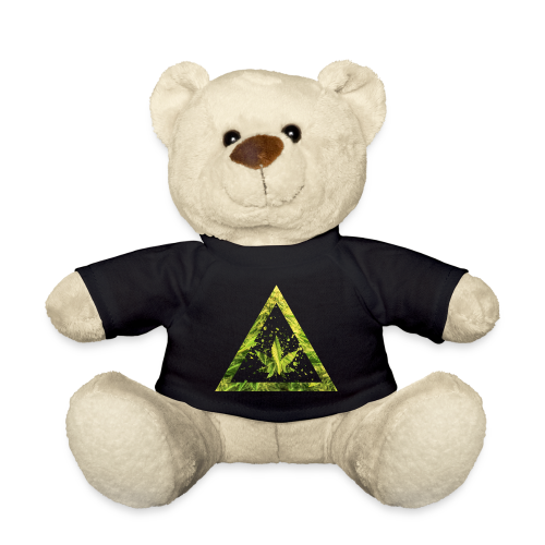 Marijuana Cannabisblatt Triangle with Splashes - Teddy