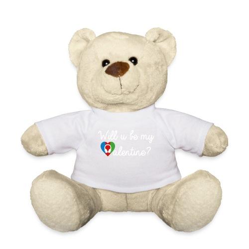 Valentine wht - Teddy
