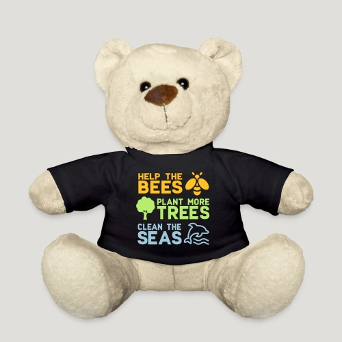 Help the Bees Plant More Trees Hilf den Bienen - Teddy