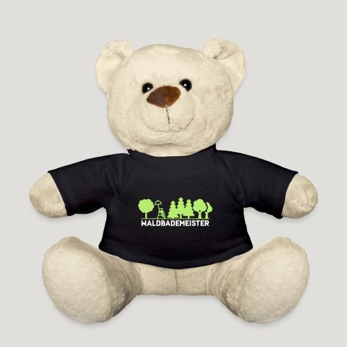 Waldbademeister fürs Waldbaden und Waldbad - Teddy