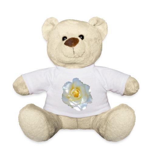 A white rose - Teddy Bear