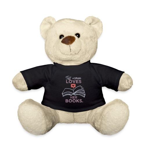 0218 Frau   Bücher   Liebe   Leserin   Bloggerin - Teddy Bear