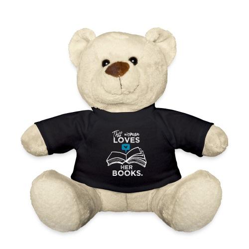 0219 Diese Frau liebt ihre Bücher   bookrebels - Teddy Bear