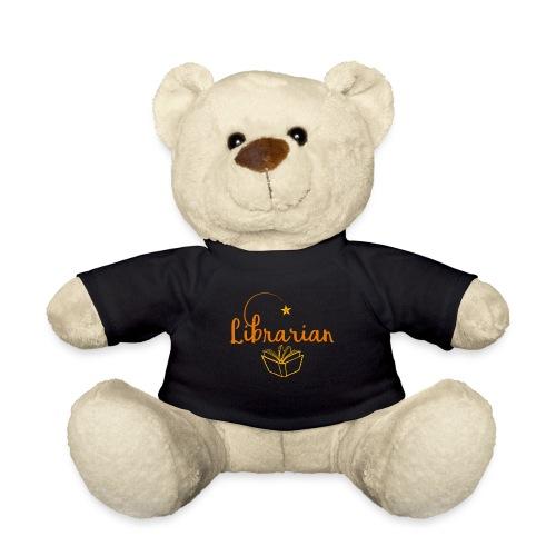 0327 Librarian Librarian Library Book - Teddy Bear