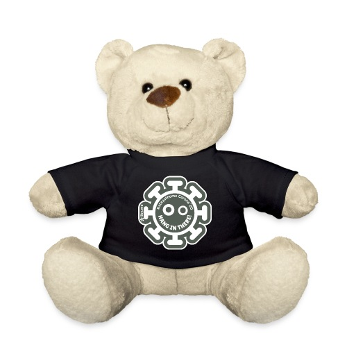 Corona Virus #stayathome gray - Teddy Bear