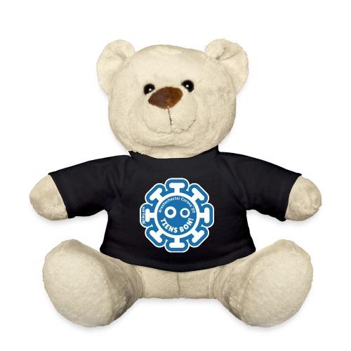 Corona Virus #restecheztoi gray bleu - Teddy Bear