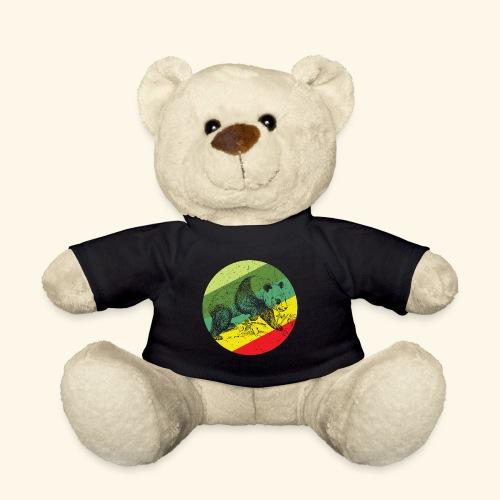 Chinese Panda Retro - Teddy Bear