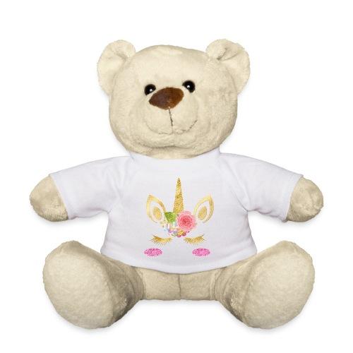 unicorn face - Teddy
