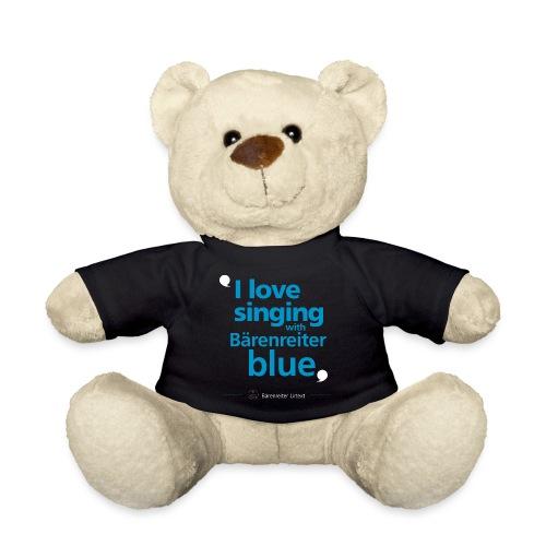 """I love singing with Bärenreiter blue"" - Teddy Bear"