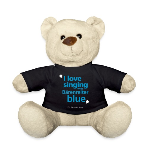 """I love singing with Bärenreiter blue"" - Teddy"
