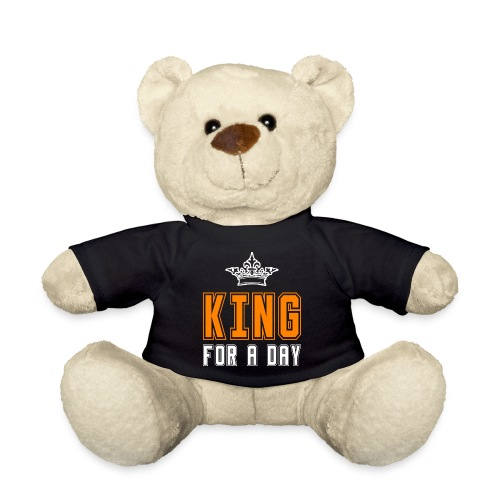 King for a day - Teddy