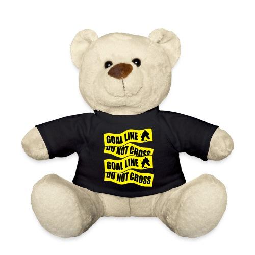 Ice Hockey - Goal Line Do Not Cross - Teddy Bear