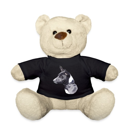 basenji black - Teddybjørn