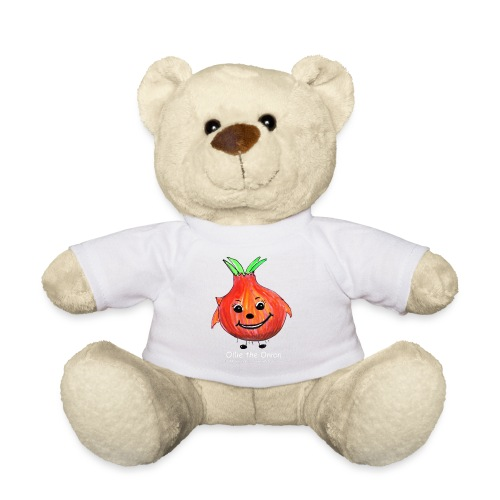 mens black T-shirt Ollie the Onion - Teddy Bear