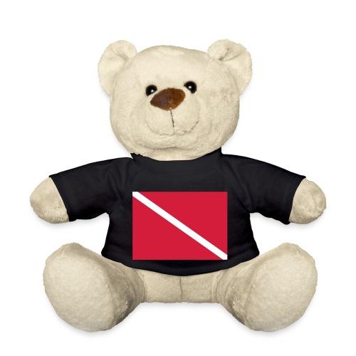 Diver Flag - Teddy Bear