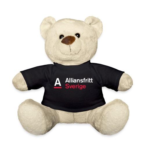 Alliansfritt Sverige Logo 2013 Färg invertera - Nallebjörn