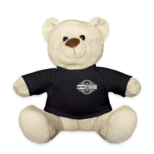 1st4Fitness White Back & Front - Teddy Bear