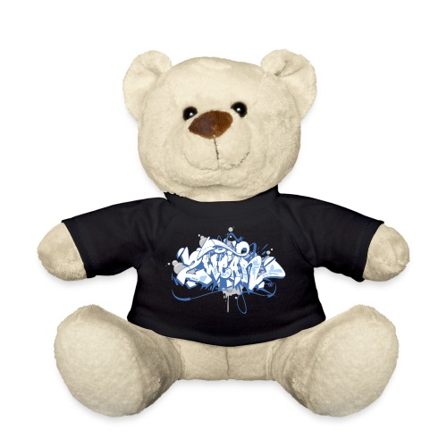 Dae 2Wear graffiti style ver01 blue edt - Teddybjørn