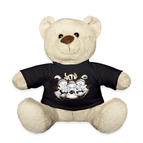 See no evil, Hear no evil, Speak no evil - Teddybjørn