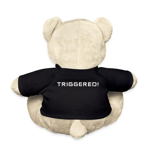 White Negant logo + TRIGGERED! - Teddybjørn