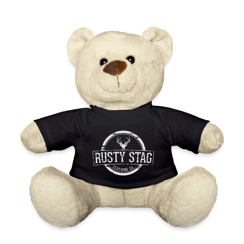 RustyStagBadgeWhite 01 png - Teddy Bear