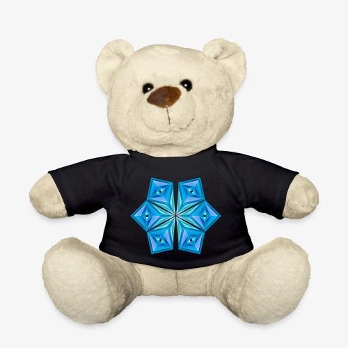 Blue Tribal eye Diamond - Teddy Bear