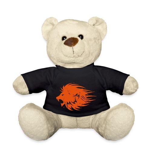 MWB Print Lion Orange - Teddy Bear