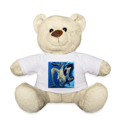 TIAN GREEN Welt Mosaik - AT042 Blue Passion - Teddy