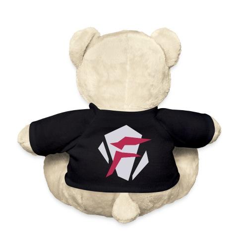 Logo, tosidet - Teddybjørn