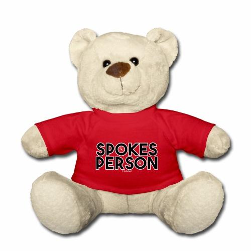 Spokes Person - Teddy
