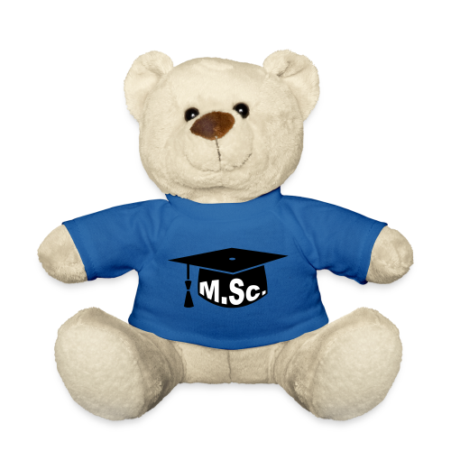 Doktorhut Master of Science M.Sc Doktorarbeit - Teddy